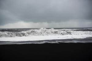 foto del mare in tempesta